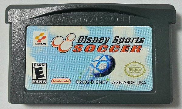 Disney Sports Soccer Original - GBA