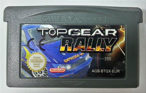 Jogo Topgear Rally Original [Europeu] - GBA