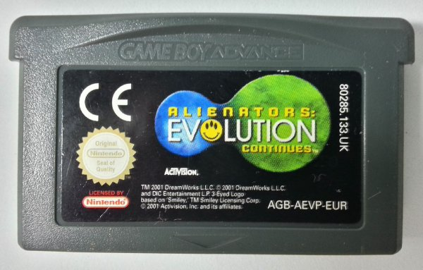 Alienators: Evolution Continues Original [Europeu] - GBA