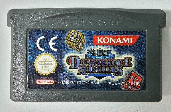 Yu-Gi-Oh! Dungeondice Monsters Original [Europeu] - GBA