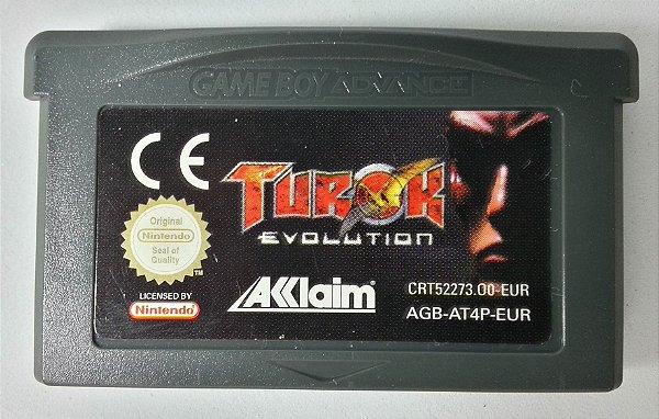 Turok Evolution Original [Europeu] - GBA