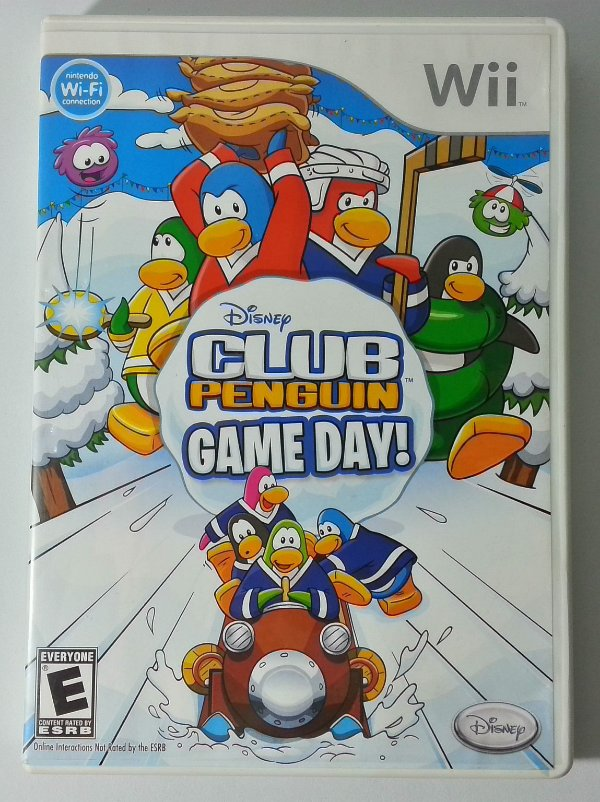Disney Club Penguin Game Day! Original - Wii