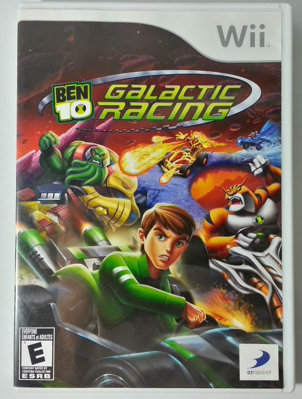 Ben 10 Galactic Racing Original - Wii