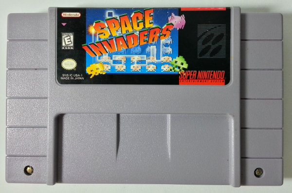 Space Invaders Original - SNES