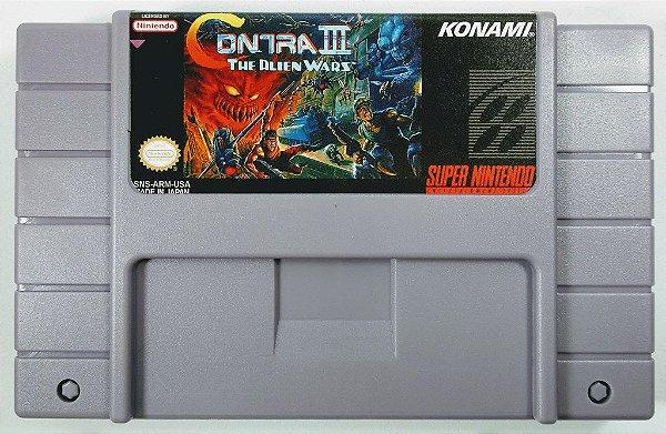 Jogo Contra III - SNES