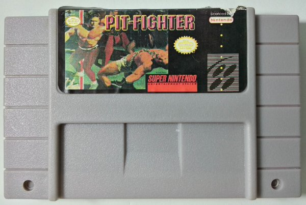Pit Fighter - SNES