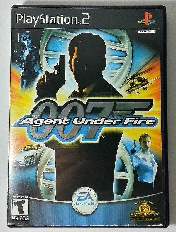 007 Agent Under Fire Original - PS2