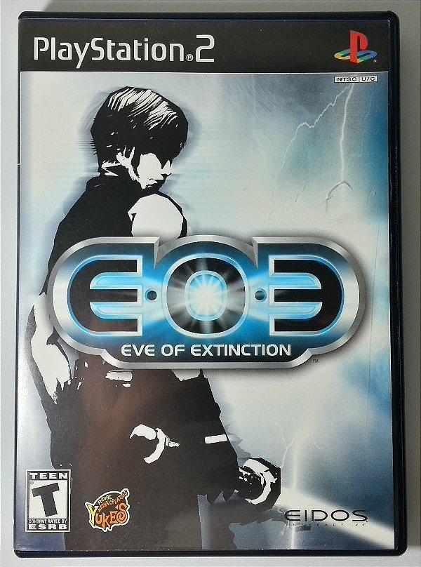E.O.E Eve of extinction Original - PS2
