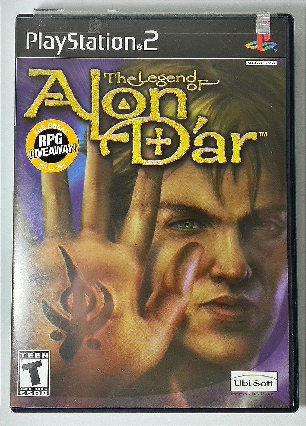 The Legend Of Alon Dar Original - PS2