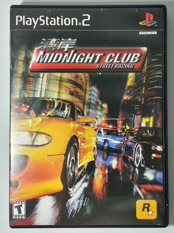Midnight Club Street Racing Original - PS2