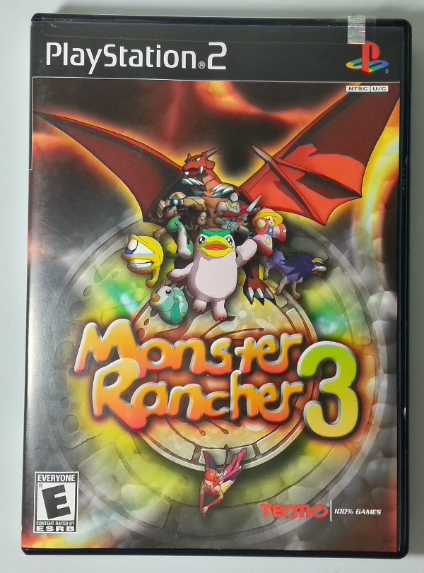 Monster Rancher 3 Original - PS2