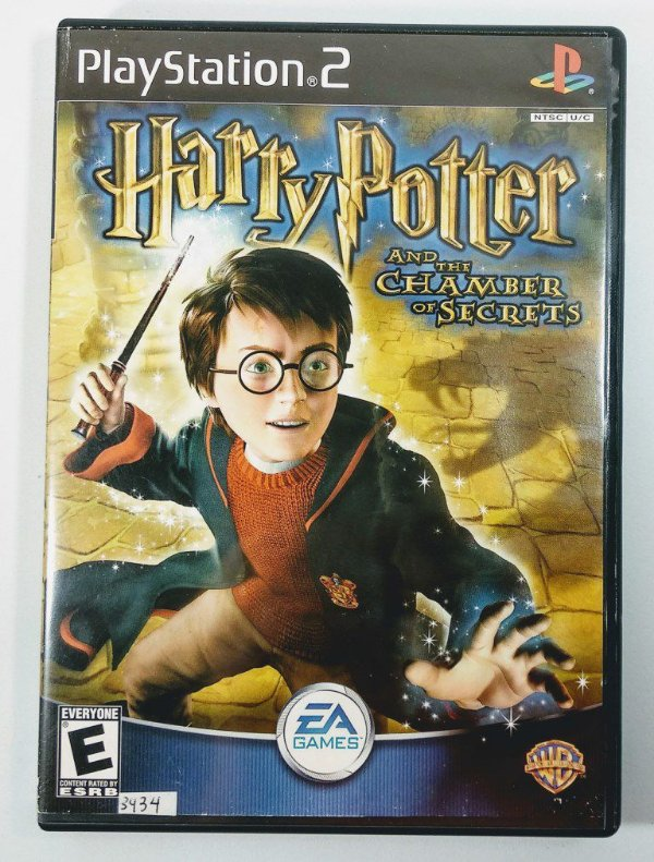 Harry Potter Chamber Secrets Original - PS2