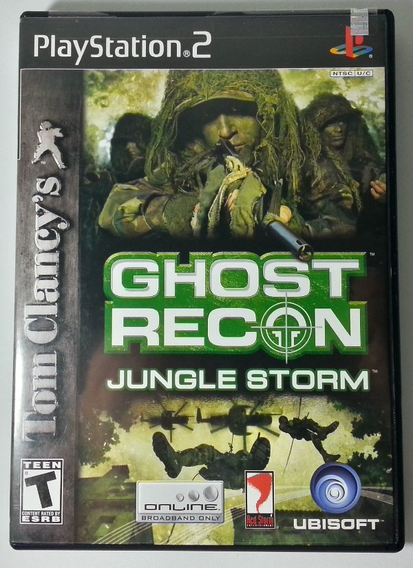 Ghost Recon Jungle Storm Original - PS2