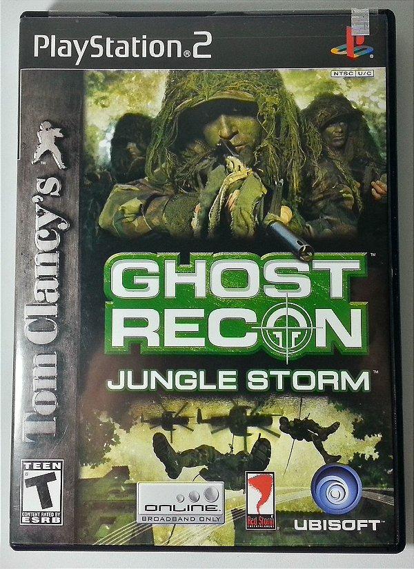 Ghost Recon Jungle Storm Original - PS2