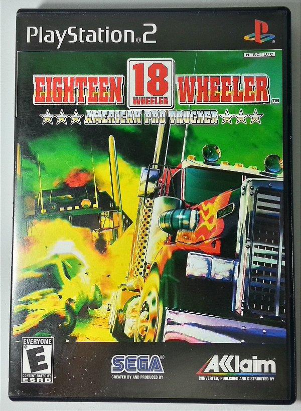 Eighteen Wheeler American Pro Trucker Original - PS2