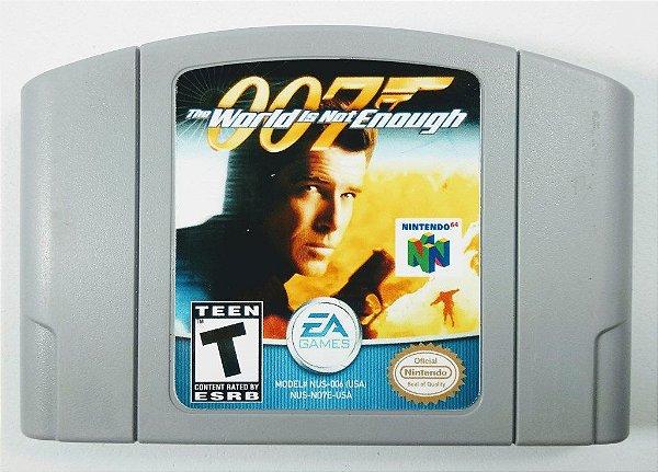 Jogo 007 The World is not Enough Original - N64