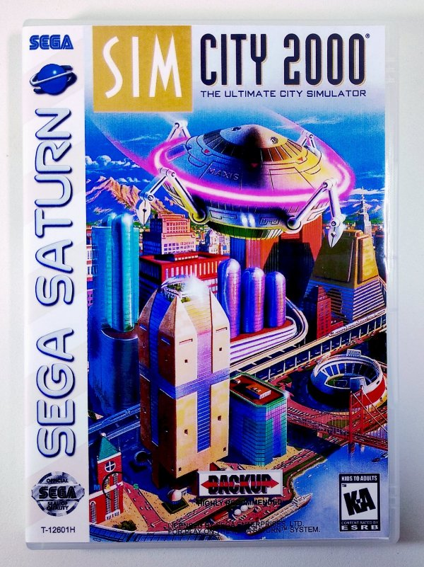 Sim City 2000 Original - Sega Saturn