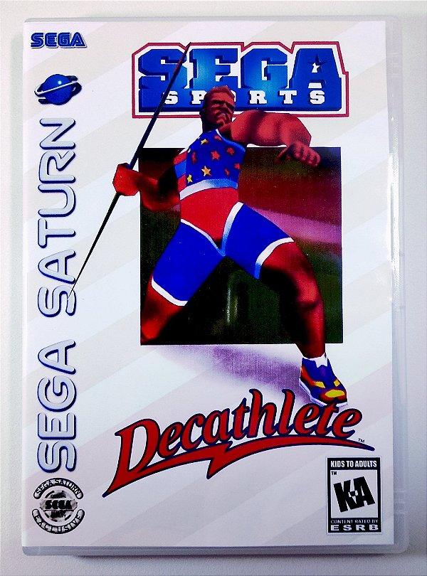 Decathlete Original - Sega Saturn