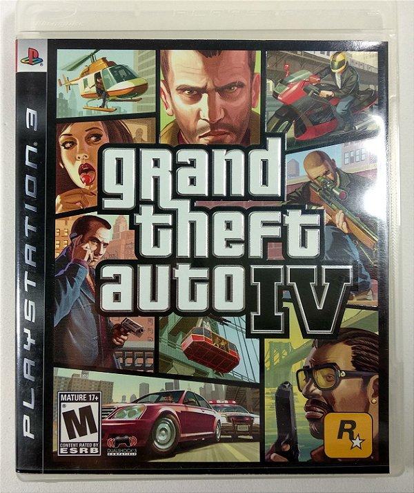 Jogo GTA IV - PS3