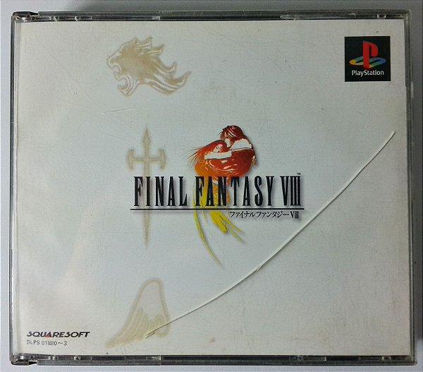 Final Fantasy VIII Original [JAPONÊS]  - PS1 ONE