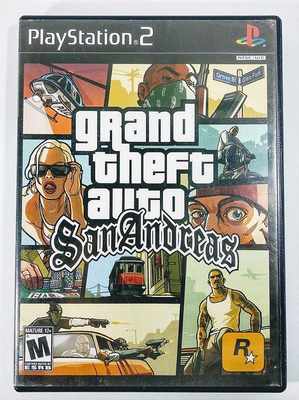 GTA San Andreas Original - PS2