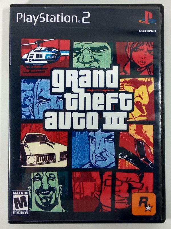 GTA III Original - PS2