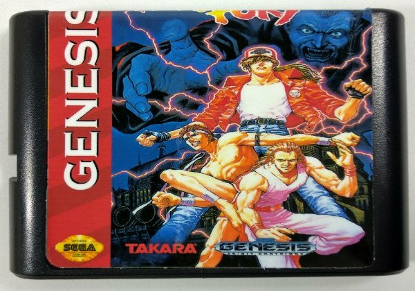 Jogo Fatal Fury - Mega Drive