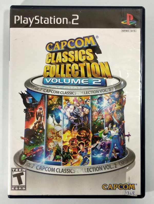 Capcom Classics Collection vol 2 Original - PS2
