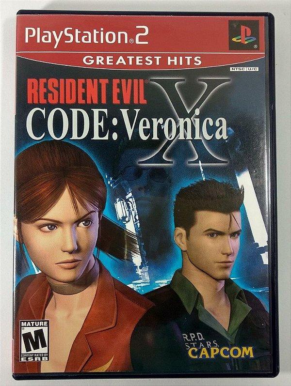 Resident Evil Code: Veronica X Original - PS2