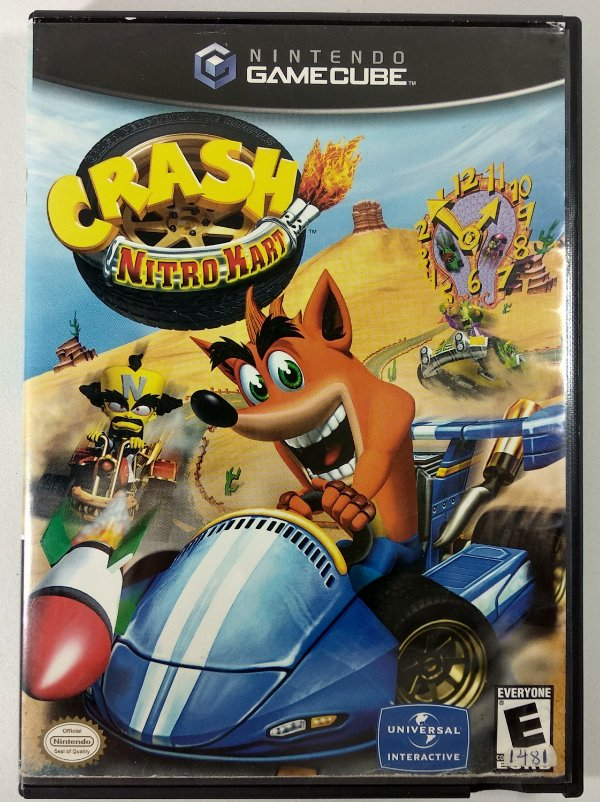 Crash Nitro Kart Original - GC