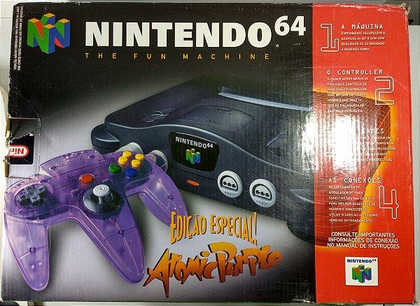 Nintendo 64 Edição Especial Atomic Purple