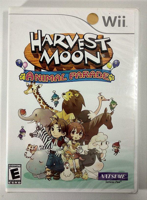 Harvest Moon Animal Parade Original (Lacrado) - Wii