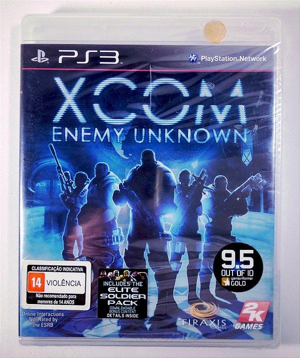 XCOM Enemy Unknown (Lacrado) - PS3