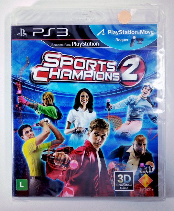 Sports Champions 2 (Lacrado) - PS3