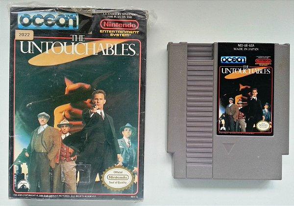 The Untouchables Original  - NES