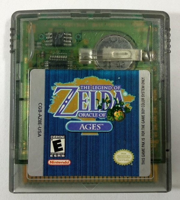 Zelda Oracle of Ages Original - GBC