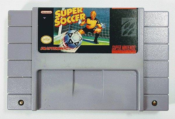 Jogo Super Soccer Original - SNES
