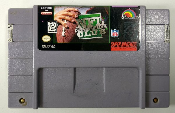 NFL Quarterback Club Original - SNES