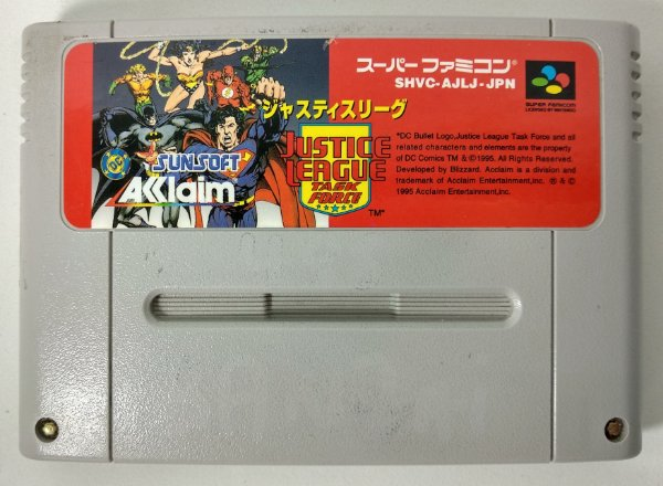 Justice League Original - Super Famicom