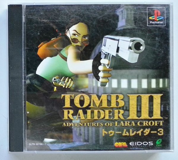 Tomb Raider III Original [JAPONÊS] - PS1 ONE