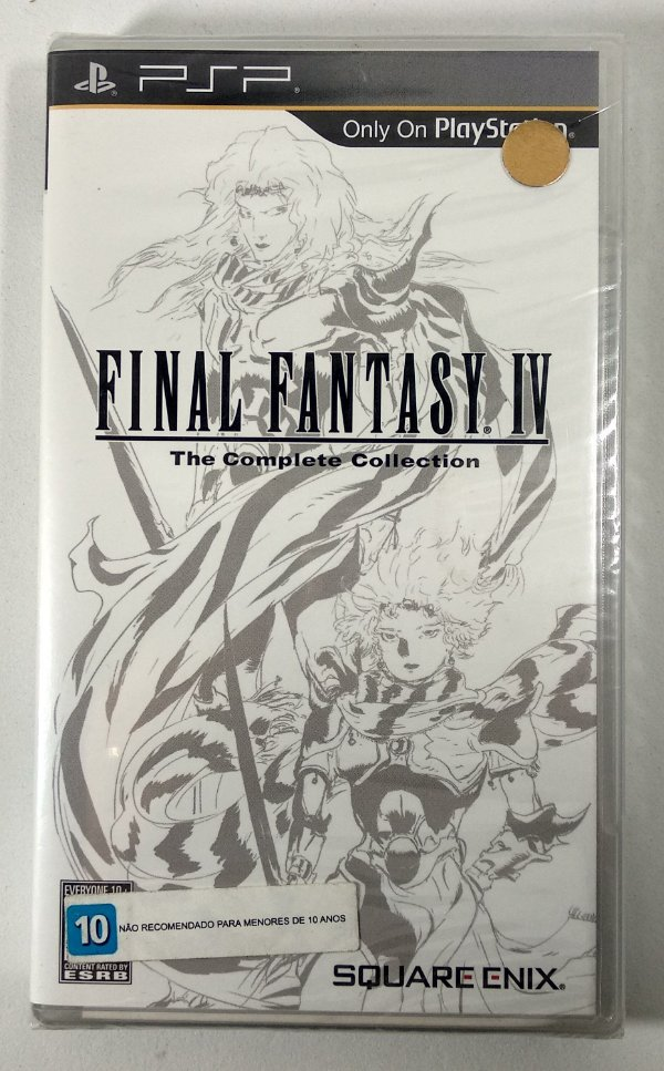Final Fantasy IV Original (LACRADO) - PSP