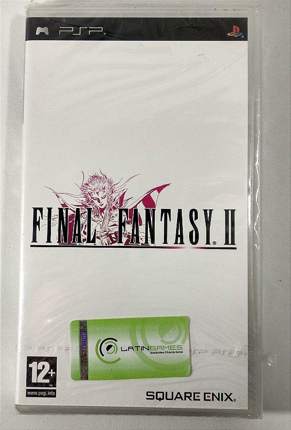 Final Fantasy II Original [EUROPEU] (LACRADO) - PSP