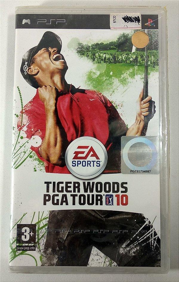 Tiger Woods PGA Tour 10 Original [EUROPEU] (LACRADO) - PSP
