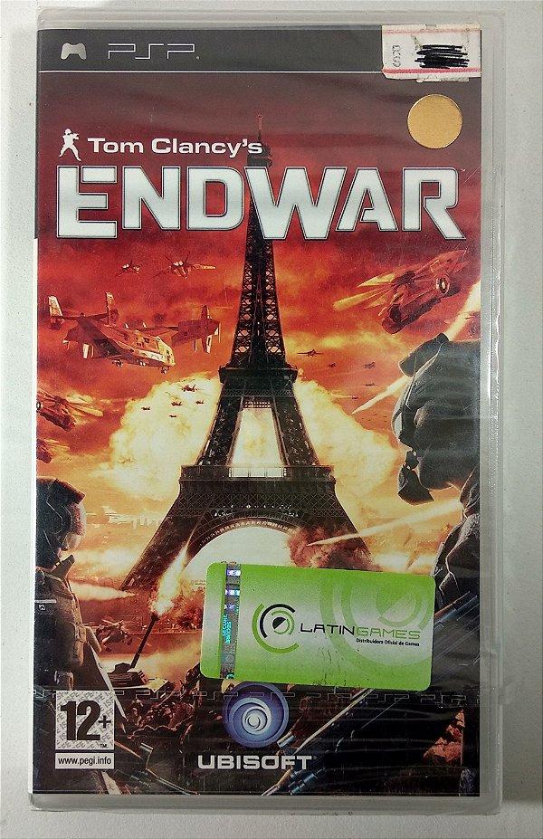 Endwar Original [EUROPEU] (LACRADO) - PSP