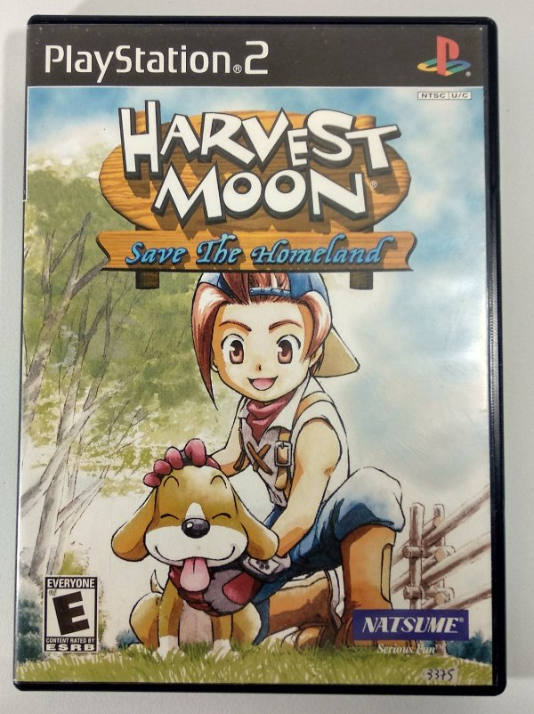 Harvest Moon save the Homeland Original - PS2