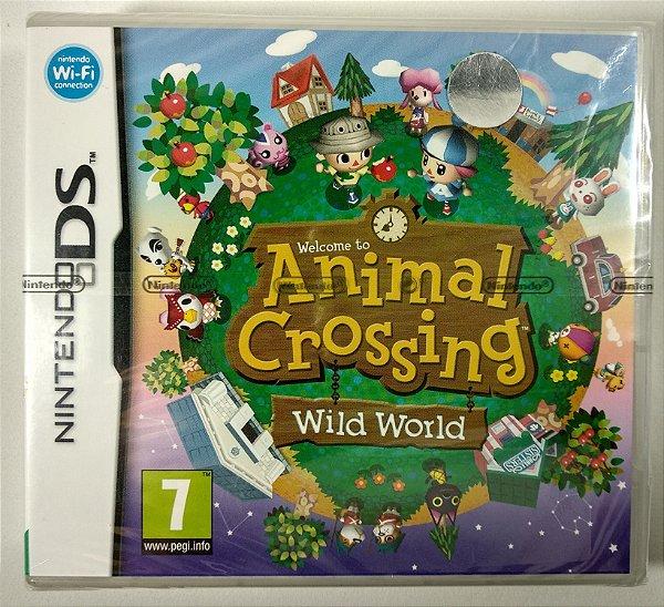 Animal Crossing Wild World Original (LACRADO) [EUROPEU] - DS