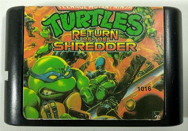 Turtles Return of the Shredder - Mega Drive