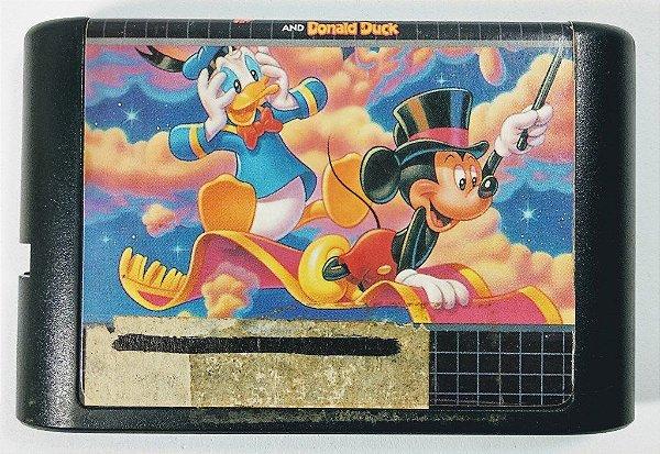 Jogo World of Illusion Mickey and Donald Duck - Mega Drive