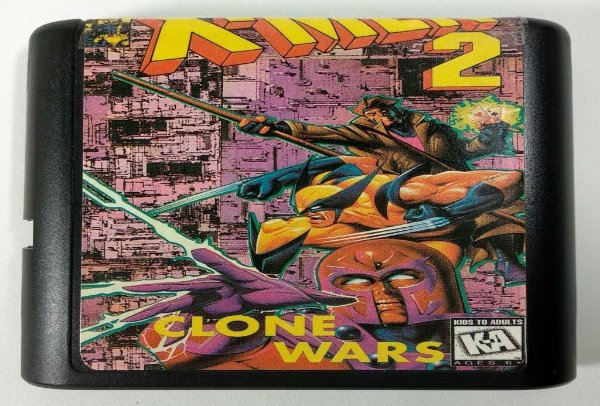 X-men 2 Clone Wars - Mega Drive