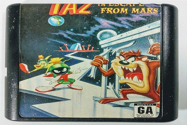Taz-Mania in Escape From Mars - Mega Drive